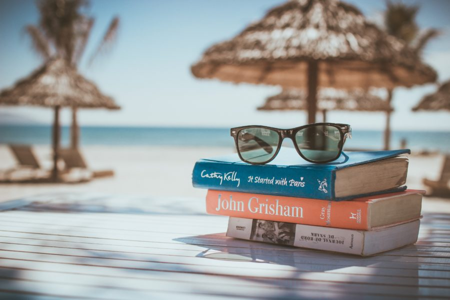Ready to read some books at the beach with prescription sunglasses!