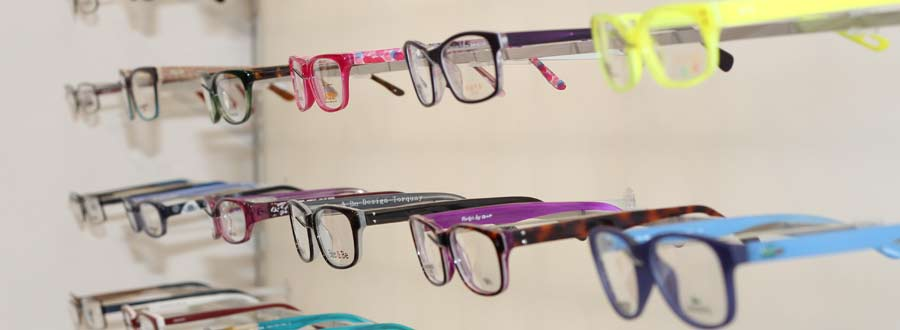 Glasses frames at Custom Eyecare Newcastle