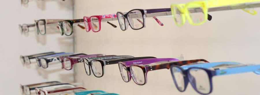 Glasses frames at Custom Eyecare Newcastle