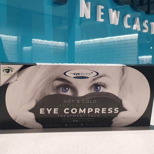 Antibacterial Eye Compress, optometry newcastle, eye treatments