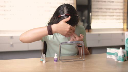 children can wear Ortho-k lenses for myopia control and correction