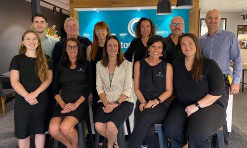 Team at Custom Eyecare, optometrists Newcastle